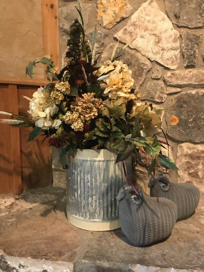Silk arrangement from Everlasting Blooms